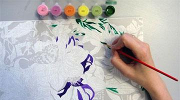 инструкция как рисовать картину по номерам - фото 3