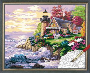 Рисунки деревня летом